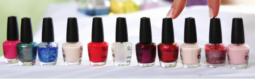 opi colour gel range professional anti chip manicure pedicure crawley down east grinstead sussex